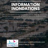 Information des intempéries de Novembre 2019 (inondations)