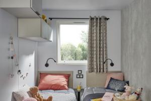 Mobil-Home neuf collection 2020,de la marque  LOUISIANE, gamme VACANCES, PACIFIQUE 2