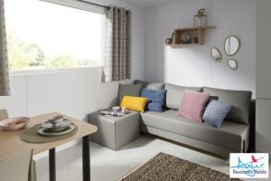 Mobil-Home neuf collection 2020, de la marque LOUISIANE, gamme VACANCES SAMOA