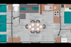 Mobil-Home neuf LOUISIANE de la gamme VACANCES CORAIL
