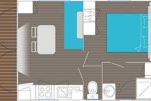 POUR VOUS LES PRO Mobil-Home d'occasion Louisiane Corsaire 1 chambre
