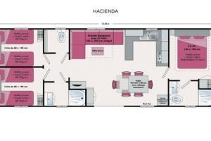 POUR VOUS LES PROS Mobil-home d'occasion IRM Hacienda