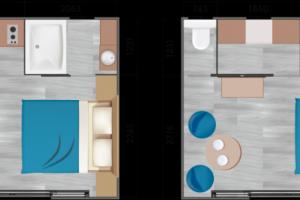 Mobil-Home neuf collection 2020, de la marque LOUISIANE  gamme TAOS S2