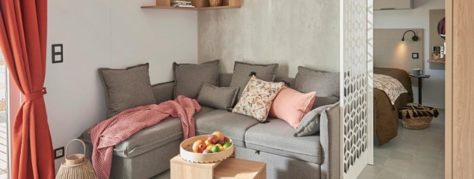 Mobil-Home neuf collection 2021,de la marque LOUISIANE, gamme  VACANCES, Cyclades