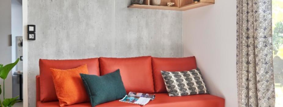 Mobil-Home neuf collection 2020 de la marque LOUISIANE  gamme VACANCES GRAND LARGE 3