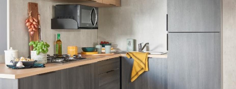 Mobil-Home neuf collection 2021,de la marque LOUISIANE, gamme  VACANCES, caraïbes