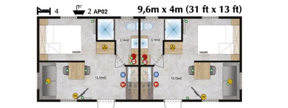 Mobil-Home neuf LARK APART