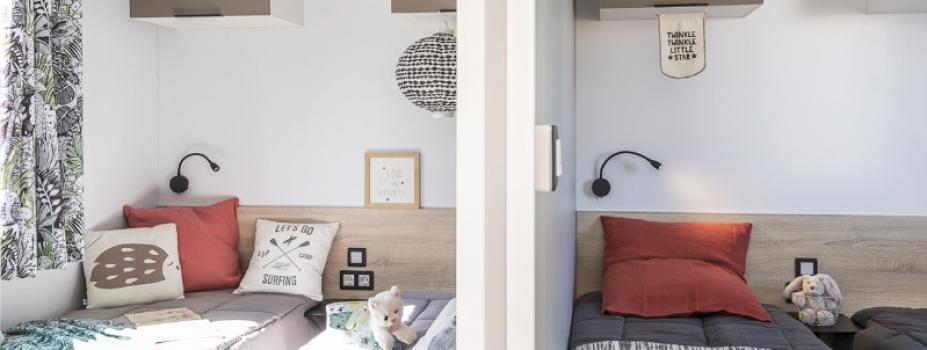 Mobil-Home neuf LOUISIANE de la gamme VACANCES TAMARIS