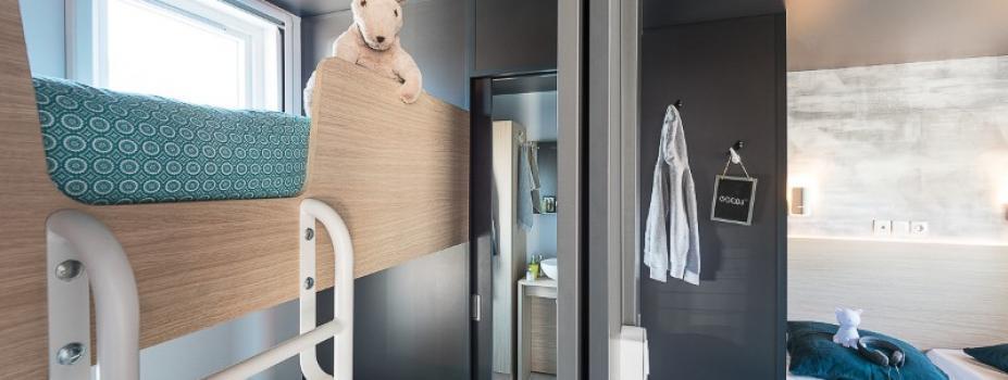 Mobil-Home neuf collection 2021,de la marque LOUISIANE,gamme  TAOS, F6